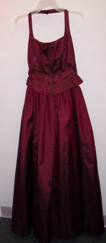 Prom Formal Halter Gown MASQUERADE Ball 13/14 Large 101-1260hdress