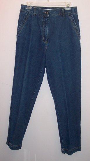 Christopher & Banks Medium to Dark Blue Denim Jeans ~ Classic Cut ~ 10 ~ 101-04h