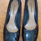 Highlights Black Womens Women's Slides Mules Pumps Shoes 9.5 9 1/2 101-5011 location85
