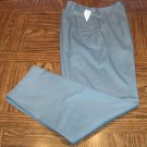 EDDIE BAUER Casual Slacks Olive PANTS Size 8P 8 Petite 101-1295 location94