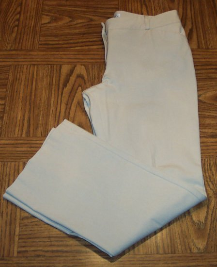 MADISON & MAX Casual Slacks Tan Khaki PANTS Size 12 101-4260 Ladies location93