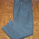 Sag Harbor Casual Slacks Charcoal Dress Pants Size 12 101-h001 Once Is Never Enough