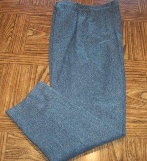 Sag Harbor Casual Slacks Charcoal Dress Pants Size 12 101-h001 Once Is Never Enough