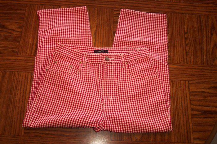 Bill Blass Easy Fit Capri Cropped Pants Size 6  101-h016 location86