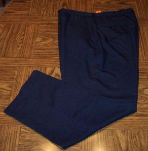 Haggar Mens Men's Classic Pants Waist 40 Inseam 32 101-h16 locw19