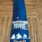 Vintage Designed by A. Rogers Tie White House Theme ~ Men's Mens Necktie 101-15htie Ties location98