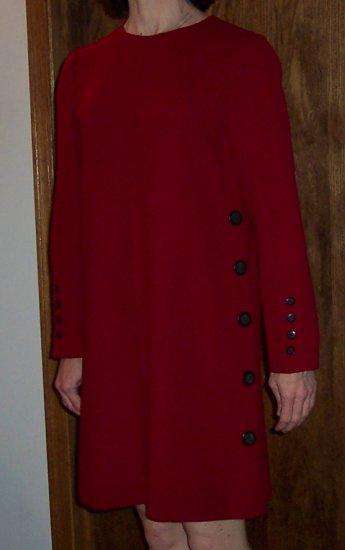 Vintage Liz Claiborne Petite Career Baby Doll Babydoll Mini Dress Size 2P 2 Petite 101-2313h