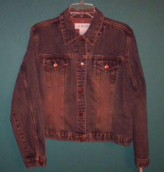LA BLUES Denim Jacket Size L Large 101-4619hjacket L.A. Blues location94