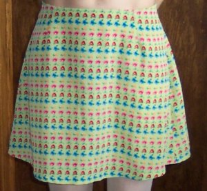 Vintage JOULE Mini Skirt Junior 11 fits Small to Medium 101-1h location97