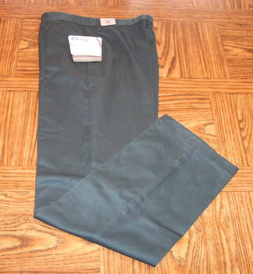 NWT Lee Performance Khakis Slacks Pants Size 12 Tall 12T 141-470 loc99