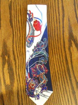 Haggar Large Paisley Print Mens Necktie Neck Tie 101-49htie Ties location87