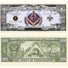 (10) FREEMASON - MASONIC MILLION DOLLAR BILLS