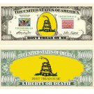(10) DON'T TREAD ON ME - TEA PARTY BILLS