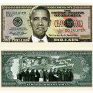 (10) BARACK Obama NOBAMA 2012 TRILLION DOLLAR BILL NOVELTY Bills