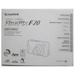 Fujifilm FinePix F20 Owner Manual User Guide