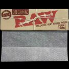 1 x RAW Organic Unbleached Hemp 1¼ 32 Leaves Rolling Papers
