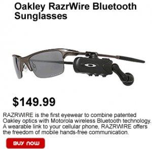 Oakley Razrwire Bluetooth Sunglasses