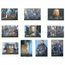Lord of the Rings Prismatic Foil Cards set of 10 LOTR