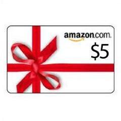 $5 Amazon Gift Card Code!