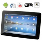 3G WiFi 10.1 Inch Widescreen Tablet Netbook With Android OS 2.1 + GPS