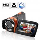 C-Shock Ultra Rugged HD Sport Camcorder (1080p, Waterproof, Macro Function)