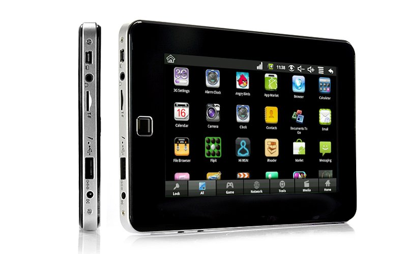 Tabulus - Android 2.2 Tablet Phone with 7 Inch Touchscreen (Quad-band GSM, WiFi, Camera)