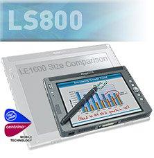 LS800 Centrino 753 1.2GHZ Pentium M, Win XP Tablet PC - Motion Computing CA43232