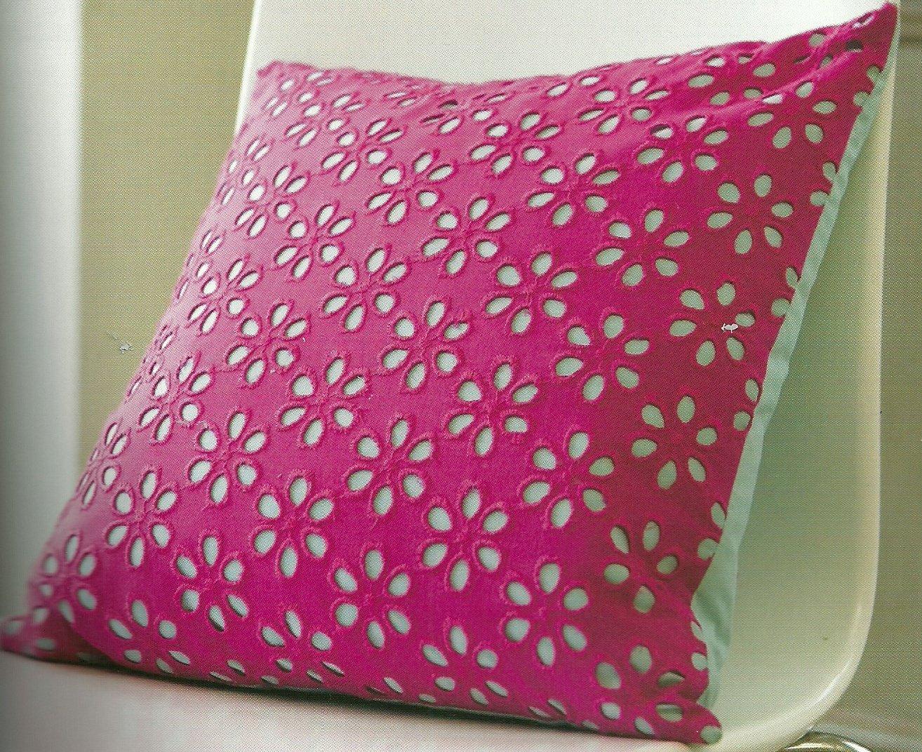 Eyelet Pillow Cover