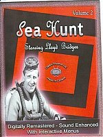 Sea Hunt Starring Lloyd Bridges-8 DVD Set-Volume 2-Interactive Menus, Chapter Stops