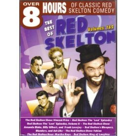 The Best of Red Skelton Volumes 1& 2 Features on 2 DVD-Vincent Price, Amanda Blake