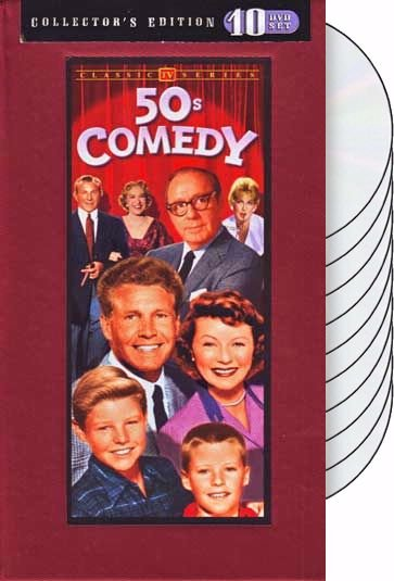 50s Comedy TV Classics (10-DVD)