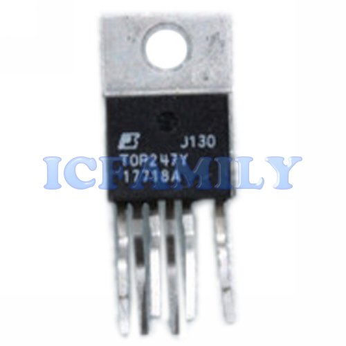 10pcs TOP247YN  TOPSwitch-GX Extended Power Design Flexoble EcoSmart Integrated Off-Line Switcher