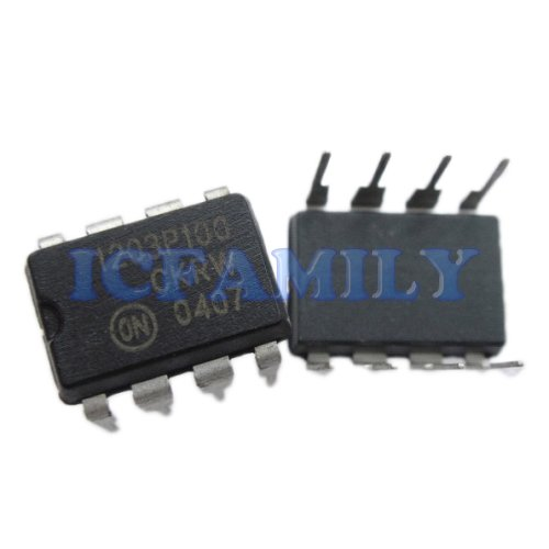 10pcs ON NCP1203P100 1203P100 PDIP-8 PWM Current-Mode Controller for Universal Off-Line Supplies