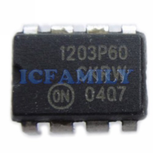 10pcs ON NCP1203P60 1203P60 PDIP-8 NCP1203 PWM Current-Mode Controller