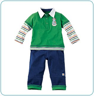 Tiny Tillia Sporty Playsuit (3-6 months)