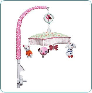 Tiny Tillia Pink Musical Mobile