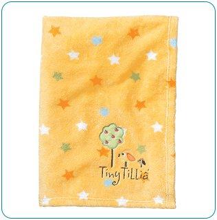 Tiny Tillia Yellow Room Blanket - Personalizable