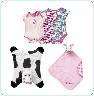 Tiny Tillia Pink Playtime Bundle (3, 6, 9 Months) - Personalizable