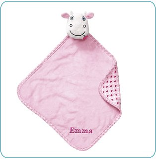 Tiny Tillia TT Cow Huggable Security Blanket