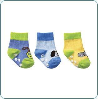 Tiny Tillia Blue Novelty Sock Set (12-24 months)