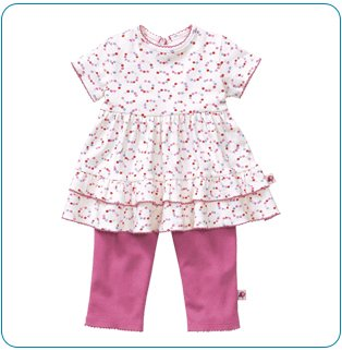 Tiny Tillia Playsuit Ruffle Top + Legging (18-24 months)