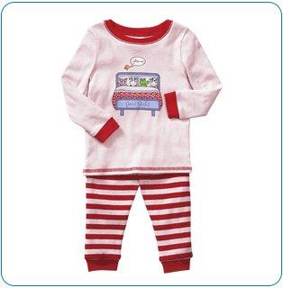 Tiny Tillia Pink Two-Piece Pajama Set (6-12 months)