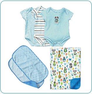Tiny Tillia Blue Bedtime Bundle (0-3 months)