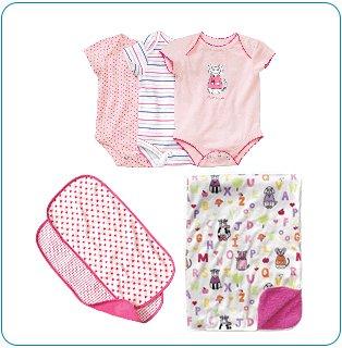Tiny Tillia Pink Bedtime Bundle (0-3 months)