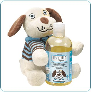 Tiny Tillia Duncan Dog Buddy + Bath Set
