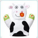 Tiny Tillia TT Cow Bath Mitt
