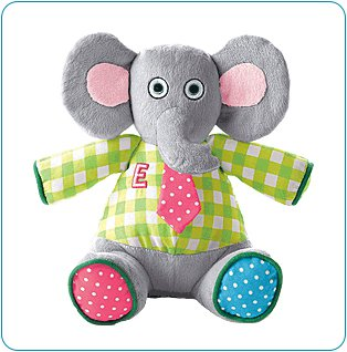 Tiny Tillia Austin Elephant Sensory Plush