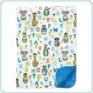 Tiny Tillia ABC Blue Gift Blanket
