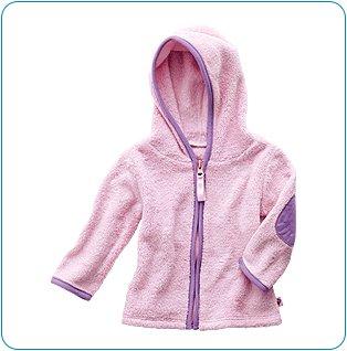 Tiny Tillia Pink Soft Fleece Jacket (3-6 months)