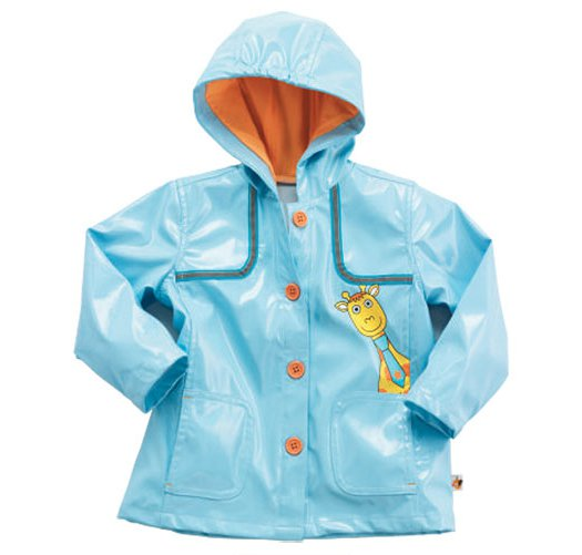 3T: Tiny Tillia Ben Giraffe Toddler Raincoat